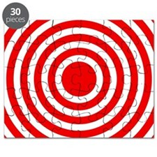 Red Bullseye Puzzle