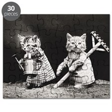 Kittens At Work Puzzle