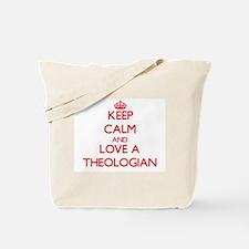Keep Calm and Love a Theologian Tote Bag