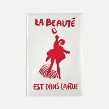 Beauty Is In The Street Rectangle Magnets