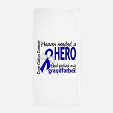 Colon Cancer HeavenNeededHero1.1 Beach Towel