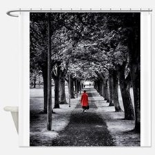 Red Coat Shower Curtain