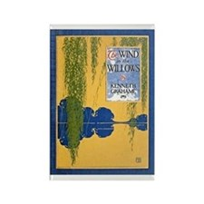 The Wind In Willows Rectangle Magnets