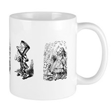 Tenniel Alice Mugs