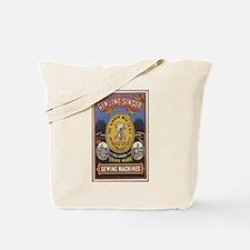 Vintage Singer Tote Bag