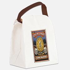 Vintage Singer Canvas Lunch Bag