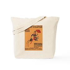 1928 Parisian Theatre Tote Bag
