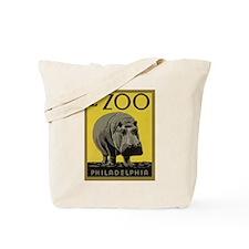 Visit The Zoo Vintage Tote Bag