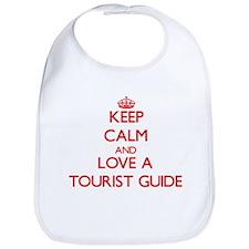 Keep Calm and Love a Tourist Guide Bib