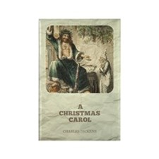 Dickens' A Christmas Carol Rectangle Magnets