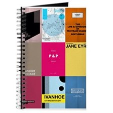Classic Book Covers Writing Journal