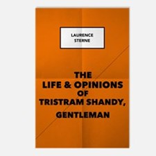 Tristram Shandy Book Postcards (package Of 8)