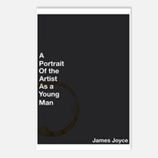 James Joyce Postcards (package Of 8)