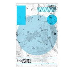 Gulliver's Postcards (package Of 8)