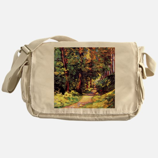 A Path in the Woods, an Armand Guill Messenger Bag