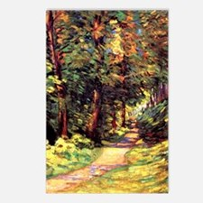 A Path in the Woods, an A Postcards (Package of 8)