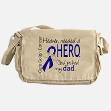Colon Cancer HeavenNeededHero1.1 Messenger Bag