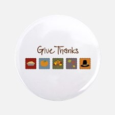 "Give Thanks 3.5"" Button (100 pack)"