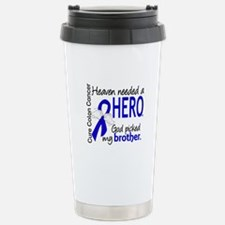 Colon Cancer HeavenNeed Travel Mug
