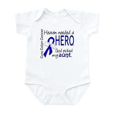 Colon Cancer HeavenNeededHero1.1 Infant Bodysuit