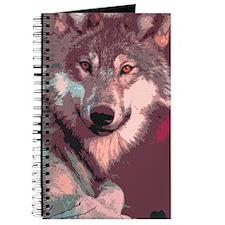 Cute Wolf Journal
