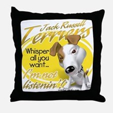 Jack Whisperer Throw Pillow