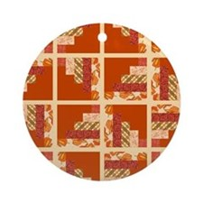 CREAMSICLE Ornament (Round)