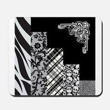 BLACK & GREY Mousepad
