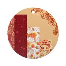 PEACHY KEEN Ornament (Round)