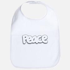 Simple Subtle Peace Bib