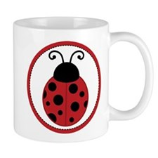 Red Ladybug Cute Mugs