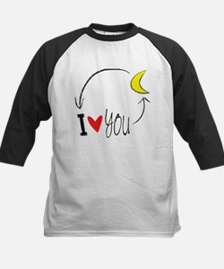 I love you to the moon and back Baseball Jersey