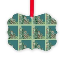 SEAFOAM & TEAL Ornament