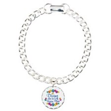 Diving Happy Place Charm Bracelet, One Charm