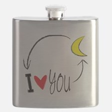 I love you to the moon and back Flask