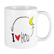 I love you to the moon and back Mugs