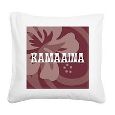 Kamaaina Square Canvas Pillow