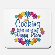 Cooking Happy Place Mousepad