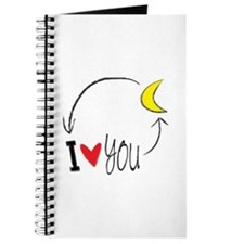 I love you to the moon and back Journal