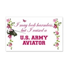 I Raised An Army Aviator Wall Decal