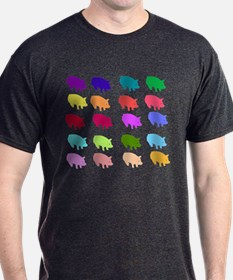 Rainbow Pigs T-Shirt