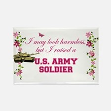 I Raised A Soldier Rectangle Magnet