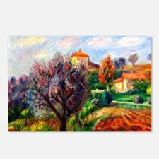 Glackens - Hillside with  Postcards (Package of 8)