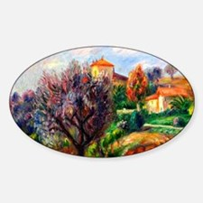 Glackens - Hillside with Olive Tree Decal