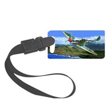 SPITFIRE OVER HAWAII Luggage Tag