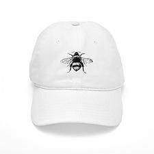 Vintage Honey Bee Baseball Baseball Cap