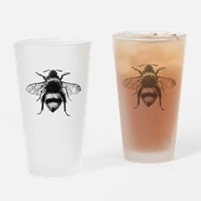 Vintage Honey Bee Drinking Glass