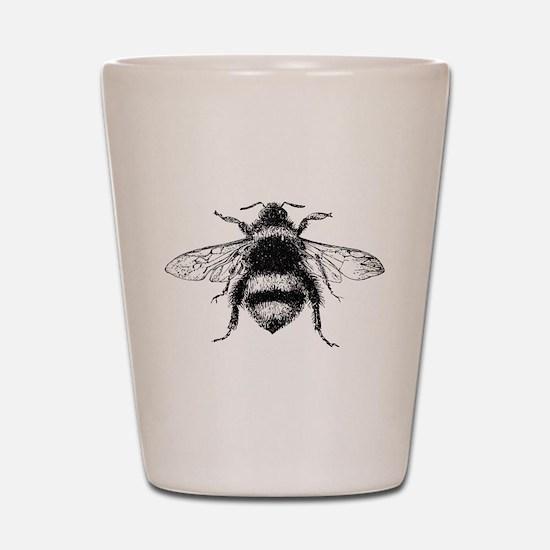 Vintage Honey Bee Shot Glass