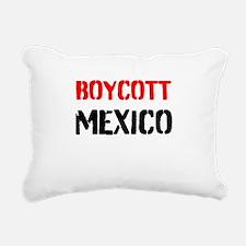 Boycott Mexico Rectangular Canvas Pillow