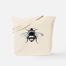 Vintage Honey Bee Tote Bag